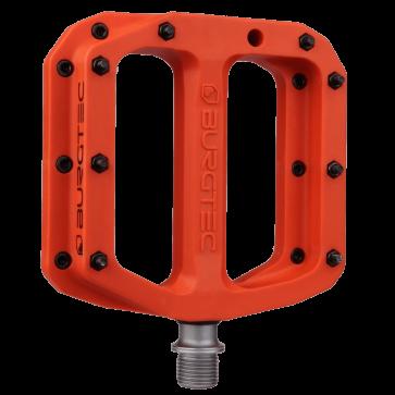 Burgtec Mk4 Composite Iron Bro Orange Pedals