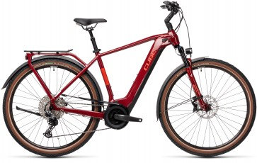 Cube Touring Hybrid Exc 500 2021 Red/Grey eBike