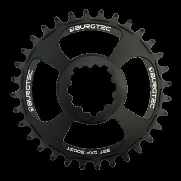 Burgtec GXP Boost Thick Thin Black Chainring