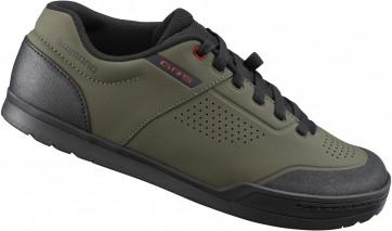 Shimano GR5 Flat Shoes Olive