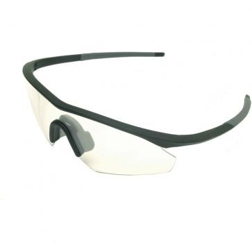 Madison Shields glasses - single clear lens
