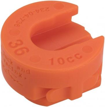 Fox 36 Volume Spacer Orange