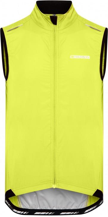 Madison Men's Sportive Windproof Gilet Lime