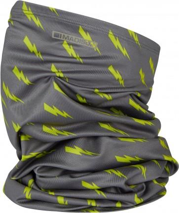 Madison Isoler Microfiber Neck Warmer Phantom / Lime