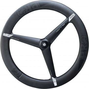 Pro Carbon 3 Spoke Tubular Front Wheel