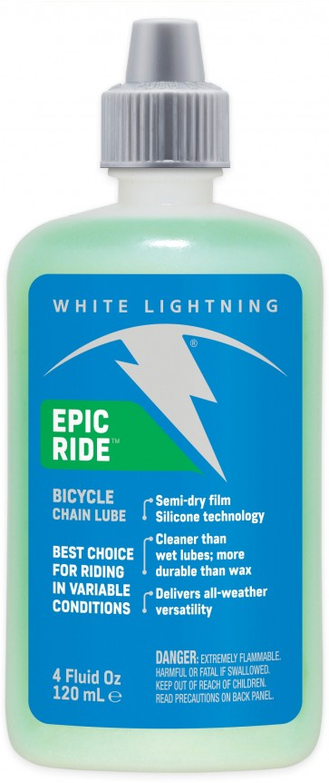 White Lightning Epic Ride Squeeze Bottle 120ml