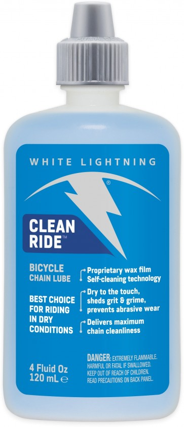 White Lightning Clean Ride Squeeze Bottle 120ml