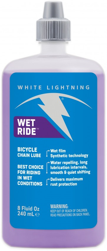 White Lightning Wet Ride Squeeze Bottle 240ml