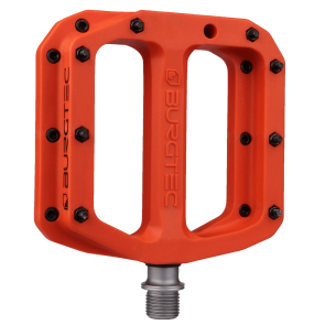 Burgtec Mk4 Composite Iron Bro Orange Pedals