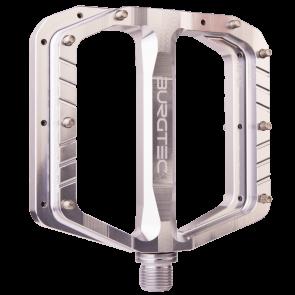 Burgtec Penthouse Flat Mk5 Rhodium Silver Pedals