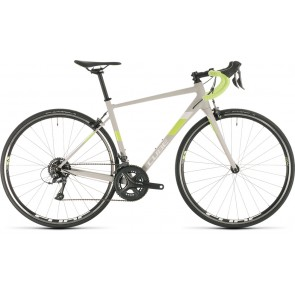 Cube Axial WS Pro 2020 Light Grey/Green Road Bike