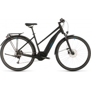Cube Touring Hybrid One 400 2020 Trapeze Black/Blue eBike