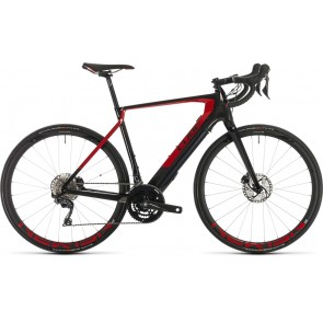 Cube Agree Hybrid C:62 SL 2020 Carbon/Red eRoad Bike