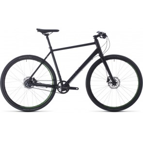Cube Hyde Race 2020 62cm Black/Green Urban Bike - Shop Soiled
