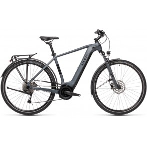 Cube Touring Hybrid One 400 2021 Grey/Black eBike