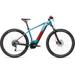 Cube Reaction Hybrid Performance 625 2021 Blue/Red eBike