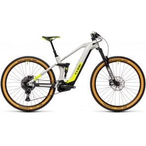 Cube Stereo Hybrid 140 HPC Race 625 2021 Grey/Yellow eMTB