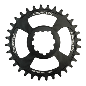 Burgtec GXP Thick Thin Black Chainring
