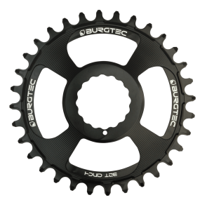 Burgtec Cinch Thick Thin Black Boost Chainring