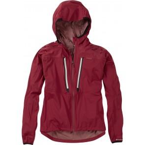 Madison Flux Super Light Women's Waterproof Softshell Jacket Red