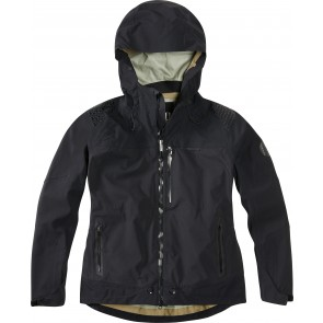 Madison DTE women's waterproof jacket, black