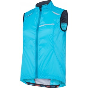 Madison Women's Sportive Windproof Gilet Blue