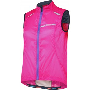 Madison Sportive women's windproof gilet, pink glo