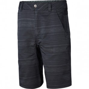 Madison Roam men's shorts, pinned stripes black / phantom