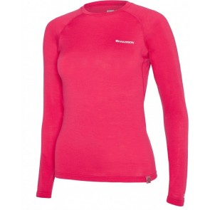 Madison Women's Isoler Merino Long Sleeve Baselayer Pink