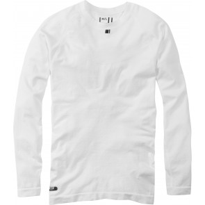 Madison Men's Isoler Mesh Long Sleeve Baselayer White