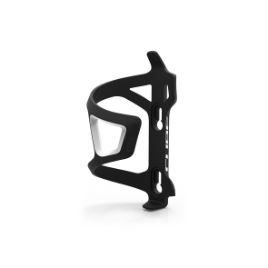 Cube HPP-Sidecage Bottle Cage Black/White