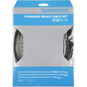 Shimano Road / MTB brake cable set, black