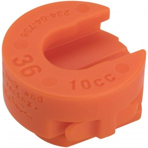 Fox 36 Volume Spacer Orange
