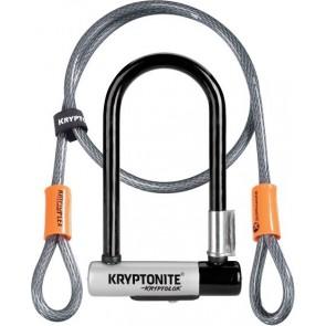 Kryptonite Kryptolok Mini U Lock / 4 Foot Cable