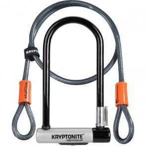Kryptonite KryptoLok Standard U Lock / 4 Foot Cable
