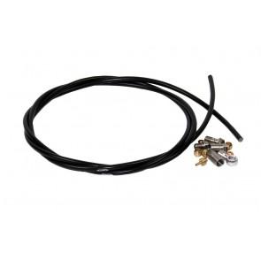 Hope 5mm Black Hose INC. 90 & Straight Connectors