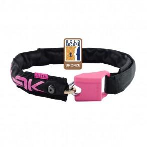 Hiplok Lite Wearable Chain Lock Pink