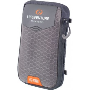 LifeVenture HydroFibre Trek Towel - Grey