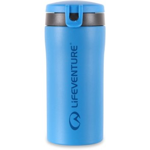 LifeVenture Flip-Top Thermal Mug - Blue
