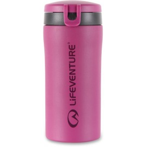 LifeVenture Flip-Top Thermal Mug - Pink