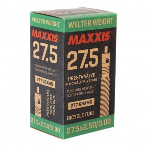Maxxis Welter Weight Presta Inner Tube 27.5 x 2.5-3.0 48mm