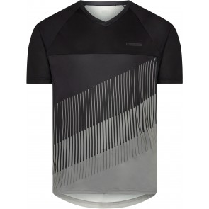 Madison Men's Zenith Short Sleeve Jersey Black/Grey