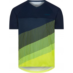 Madison Men's Zenith Short Sleeve Jersey Navy/Lime