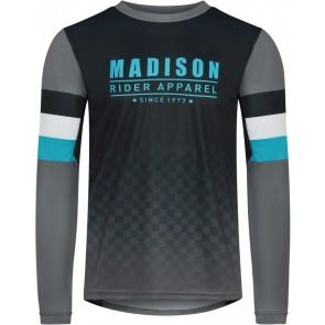 Madison Men's Alpine Long Sleeve Jersey Black/Blue