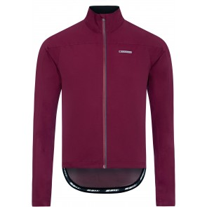 Madison Men's RoadRace Super Light Waterproof Shoftshell Jacket Burgundy