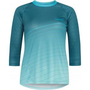 Madison Women's Flux 3/4 Sleeve Jersey Blue
