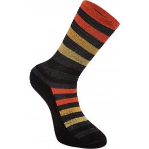 Madison Isoler Merino 3 Season Socks Phantom/Syrup