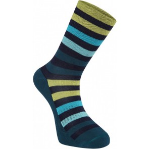 Madison Isoler Merino 3 Season Socks Ink/Lime