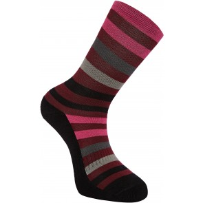 Madison Isoler Merino 3 Season Socks Red/Berry