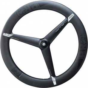 Pro Carbon 3 Spoke Tubular Front Wheel